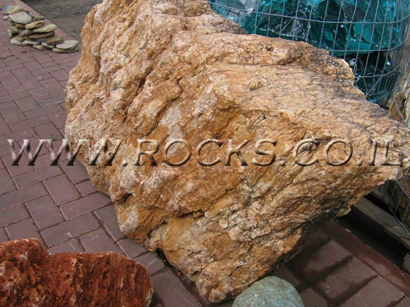 סלע מצופה זהב