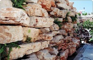 Building rockeries