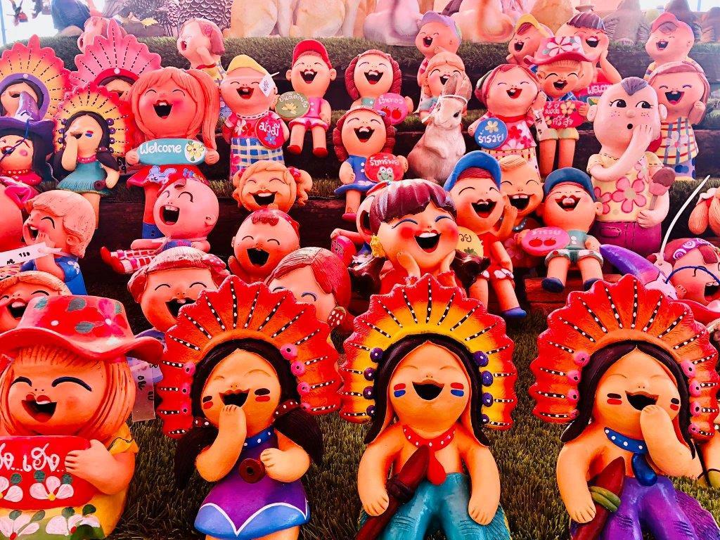 בובות לגינה