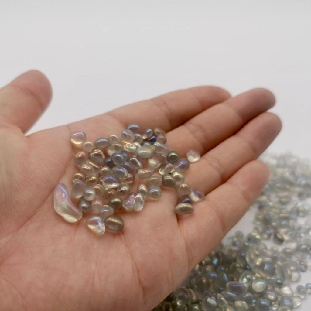 גרנוליט שקוף זכוכית שקופה מצרי אפור אפורה