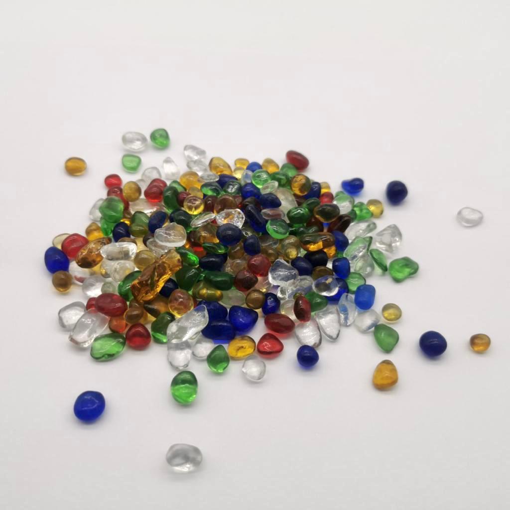 גרנוליט צבעוני צבעונית גרנוליט אומנותית פסיפס אבני זכוכית חלוקי זכוכית גרנוליטי עיצוב נוף