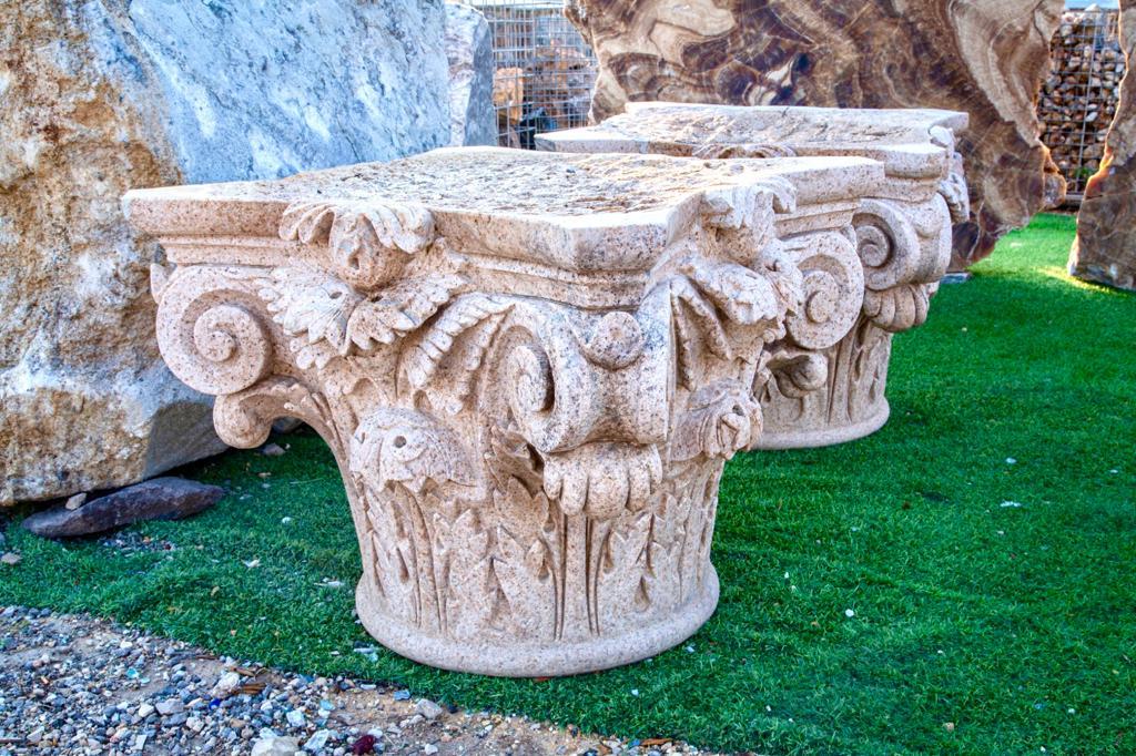 ראשי עמודים רומיים