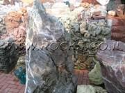 Variegated Bordeaux Rock