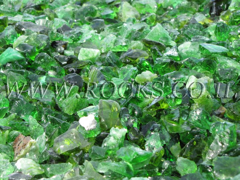 זכוכיות ירוקות קטנות